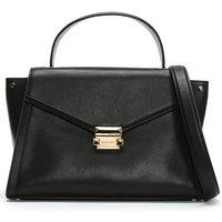 Michael Kors Whitney Leather Satchel Bag