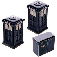 Ceramic Police Box Salt and Pepper Set