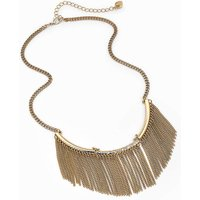 'Lipsy Fringed Collar Necklace
