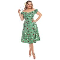Collectif Dolores Butterfly Doll Dress