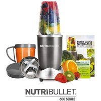 Nutri Bullet 600 Series - Graphite 8 pc