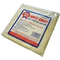 Dust Sheet Cotton Twill Poly 12ft X 9ft