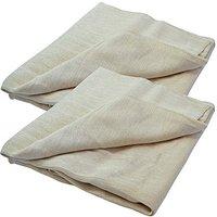 Faithfull Cotton Dust Sheet Twinpack