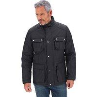 Black Waxed Jacket.