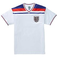 England 1982 Retro Football Shirt.