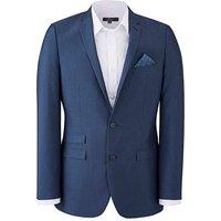 Blue Suit Jacket Long