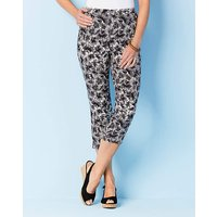 Julipa Pull on Capri Trousers