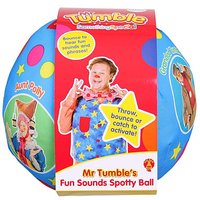Mr Tumble's Fun Sounds Spotty Ball.
