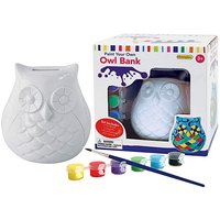 Paint Your Own Owl Bank at JD Williams Catalogue