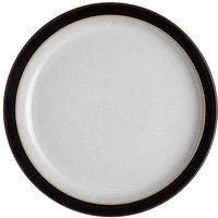 Denby Elements 4 Medium Plates Black