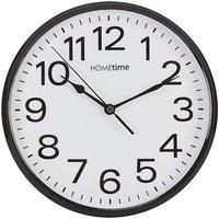 Black Plastic Wall Clock