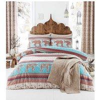 Catherine Lansfield Elephant Bedspread