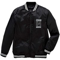 Label J Printed Bomber Jacket L