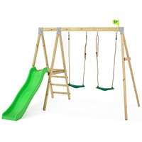 TP Forest Multiplay Wooden Swing and Slide