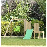 TP Forest Toddler Wooden Swing and Slide