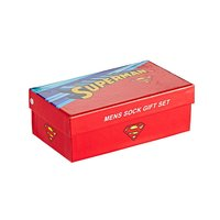 Superman Gift Boxed Socks