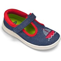 Chipmunks Denim Nautical Canvas Shoe