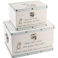 Luggage Series Set of 2 Baby Boy Boxes