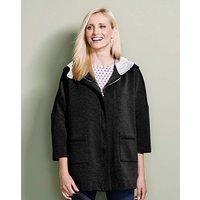 Heavy Jersey Hooded Jacket
