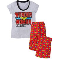 Personalised Wonder Woman Pyjamas