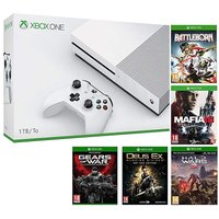 Xbox One S 1TB Console  5 Games