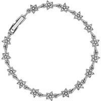 Image of Jon Richard Crystal Star Link Bracelet
