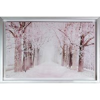 Arthouse Blush Trees Capped Canvas
