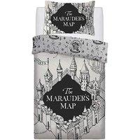 Maurauders Map Panel Duvet