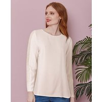 Ivory Lace Insert Top