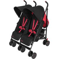 Mac by Maclaren Black Twin Pushchair