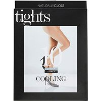 2 Pack 10 Natural Denier Cooling Tights