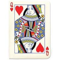 Queen of Hearts A6 Notebook