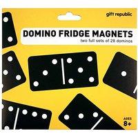Domino fridge magnets