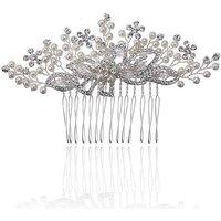 Jon Richard Spray Mini Pearl Flower Comb