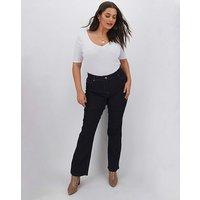 24/7 Indigo Bootcut Jeans Long