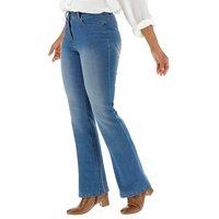 24/7 Blue Bootcut Jeans