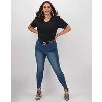24/7 Blue Skinny Jeans Long
