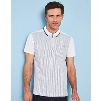 Bewley & Ritch White/Navy Polo R