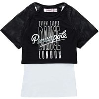 Pineapple Girls Double Layer Top