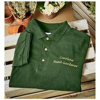 Personalised Head Gardener Polo T-Shirt