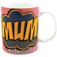 Comic Book Mum Porcelain Mug