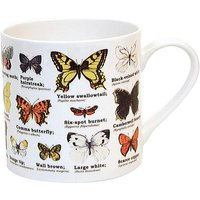 Butterflies Bone china mug