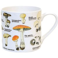 Mushroom Bone China Mug