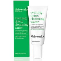 This Works Evening Detox Cleansing Water.