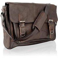 Woodland Leather Messenger Bag
