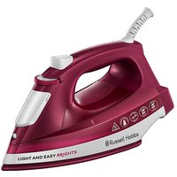Russell Hobbs 2400W Mulberry Steam Iron.