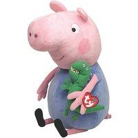 TY George Pig 15 Inch Plush.