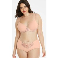 Ella Lace Blush Luxury T-Shirt Bra