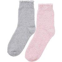 2 Pack Chenille Socks