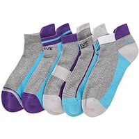 5 Pack Cushion Support Trainer Socks